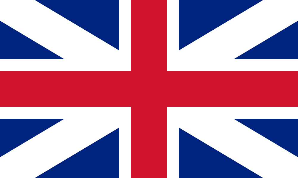 Flagge von English