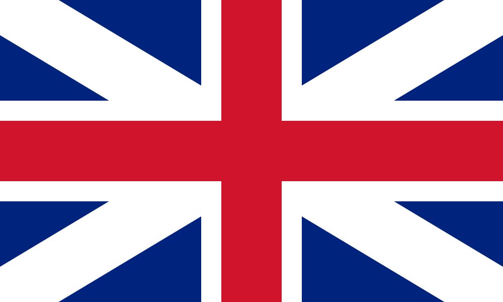 Flagge von English