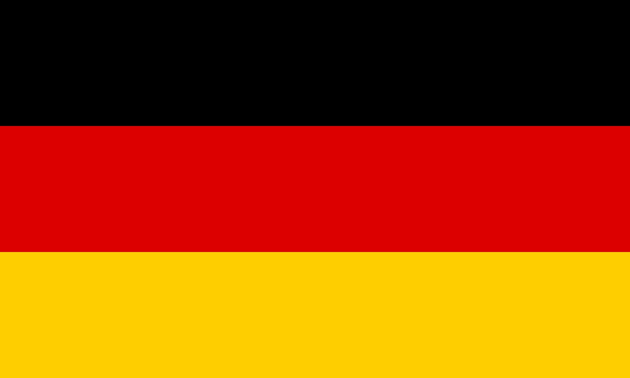 Flagge von Deutsch